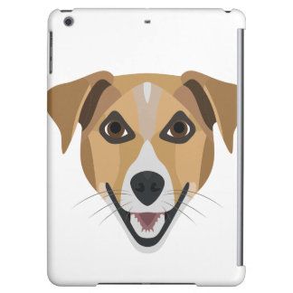 Illustration Dog Smiling Terrier Cover For iPad Air