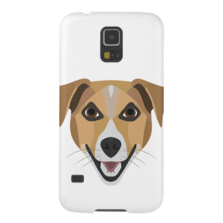 Illustration Dog Smiling Terrier Galaxy S5 Covers