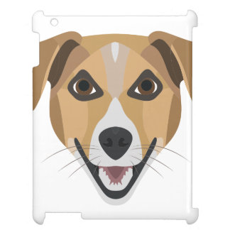 Illustration Dog Smiling Terrier iPad Cases