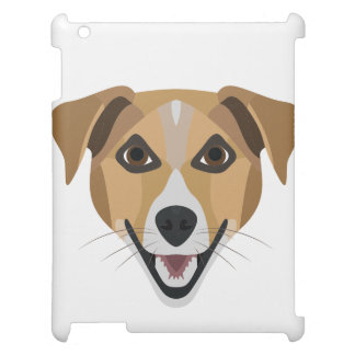 Illustration Dog Smiling Terrier iPad Covers