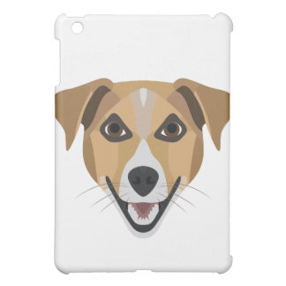 Illustration Dog Smiling Terrier iPad Mini Cover