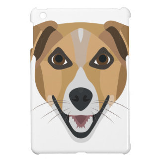 Illustration Dog Smiling Terrier iPad Mini Covers