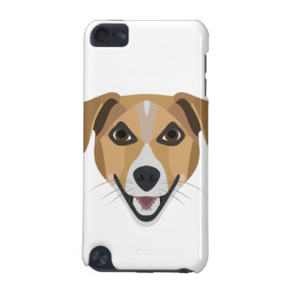 Illustration Dog Smiling Terrier iPod Touch (5th Generation) Case