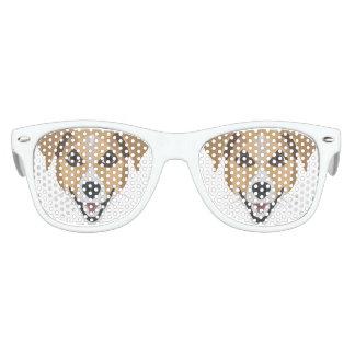 Illustration Dog Smiling Terrier Kids Sunglasses