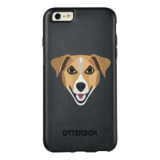 Illustration Dog Smiling Terrier OtterBox iPhone 6/6s Plus Case
