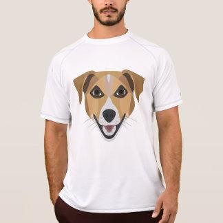 Illustration Dog Smiling Terrier T-Shirt