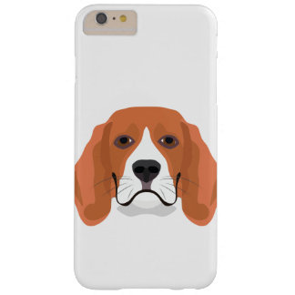 Illustration dogs face Beagle Barely There iPhone 6 Plus Case