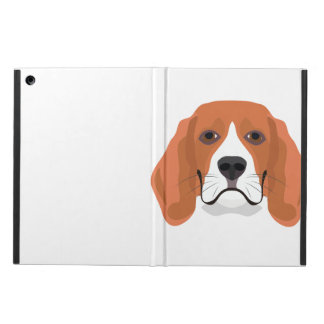 Illustration dogs face Beagle Case For iPad Air