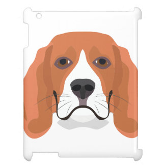 Illustration dogs face Beagle Case For The iPad