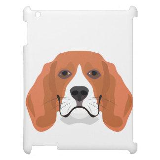 Illustration dogs face Beagle iPad Cases