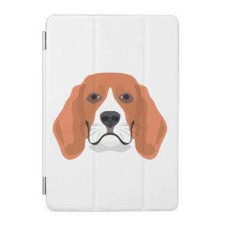 Illustration dogs face Beagle iPad Mini Cover