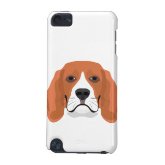 Illustration dogs face Beagle iPod Touch 5G Case