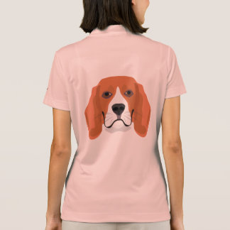 Illustration dogs face Beagle Polo Shirt