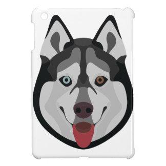 Illustration dogs face Siberian Husky iPad Mini Cover