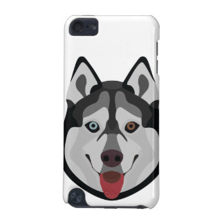Illustration dogs face Siberian Husky iPod Touch 5G Cases