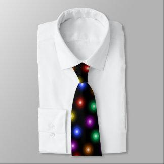 Illustration élégante fraîche de motif de lumières cravate