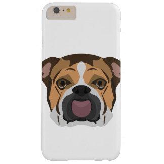 Illustration English Bulldog Barely There iPhone 6 Plus Case