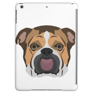 Illustration English Bulldog Case For iPad Air