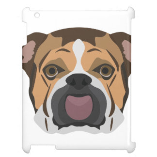 Illustration English Bulldog Case For The iPad 2 3 4