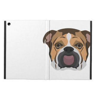 Illustration English Bulldog Cover For iPad Air