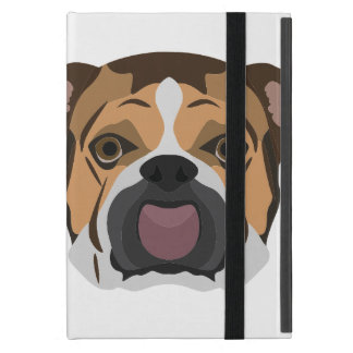 Illustration English Bulldog Cover For iPad Mini