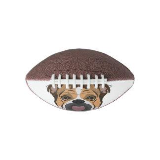 Illustration English Bulldog Football