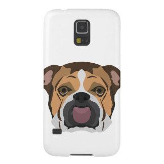 Illustration English Bulldog Galaxy S5 Case