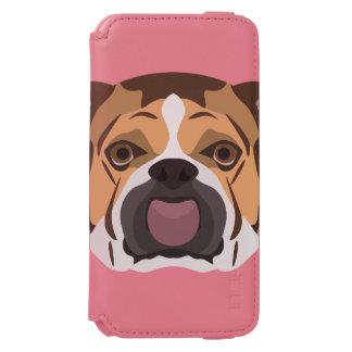 Illustration English Bulldog Incipio Watson™ iPhone 6 Wallet Case