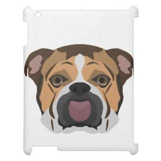 Illustration English Bulldog iPad Cases