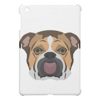 Illustration English Bulldog iPad Mini Case