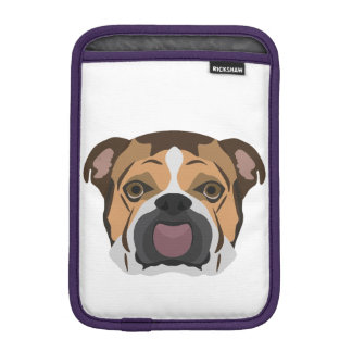 Illustration English Bulldog iPad Mini Sleeve