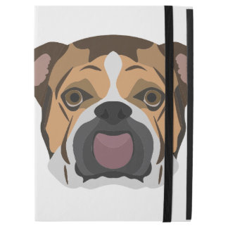 "Illustration English Bulldog iPad Pro 12.9"" Case"