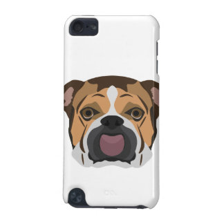 Illustration English Bulldog iPod Touch (5th Generation) Case