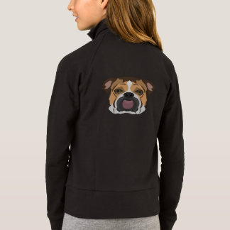 Illustration English Bulldog Jacket