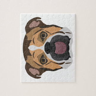 Illustration English Bulldog Jigsaw Puzzle