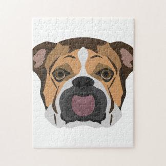 Illustration English Bulldog Jigsaw Puzzle