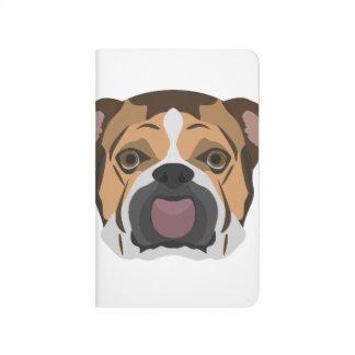 Illustration English Bulldog Journal
