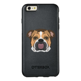 Illustration English Bulldog OtterBox iPhone 6/6s Plus Case