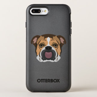 Illustration English Bulldog OtterBox Symmetry iPhone 8 Plus/7 Plus Case