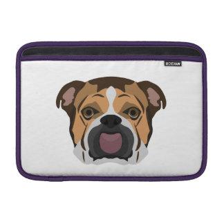 Illustration English Bulldog Sleeve For MacBook Air