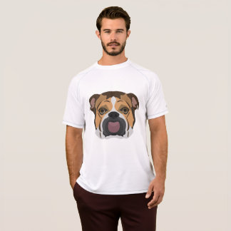 Illustration English Bulldog T-Shirt