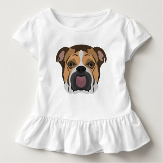 Illustration English Bulldog Toddler T-shirt