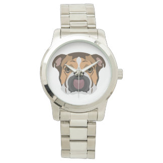 Illustration English Bulldog Watch