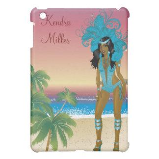 Illustration for carnival costume o las vegas show iPad mini covers