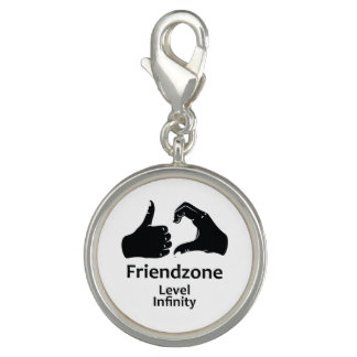 Illustration Friendzone Level Infinity Charm