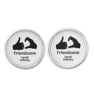Illustration Friendzone Level Infinity Cuff Links