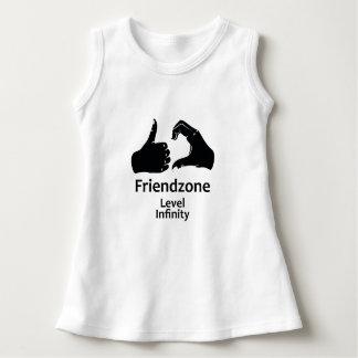 Illustration Friendzone Level Infinity Dress