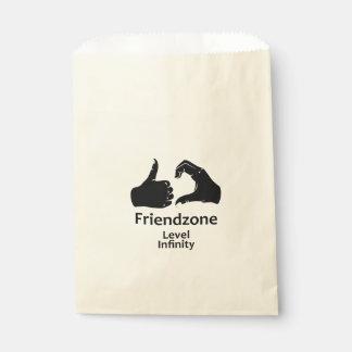 Illustration Friendzone Level Infinity Favour Bag