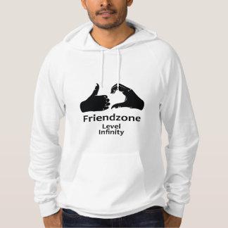 Illustration Friendzone Level Infinity Hoodie