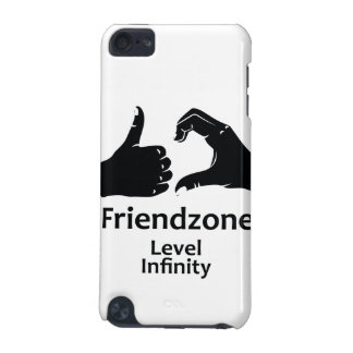 Illustration Friendzone Level Infinity iPod Touch (5th Generation) Covers